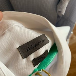 White Calvin Klein Dress shirt